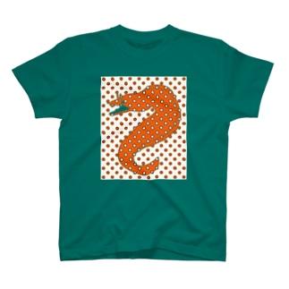 ドット トラウツボ T-shirts