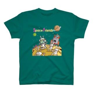 フェレット宇宙親善大使 T-shirts