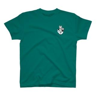 ゴキゲン箱猫 T-shirts