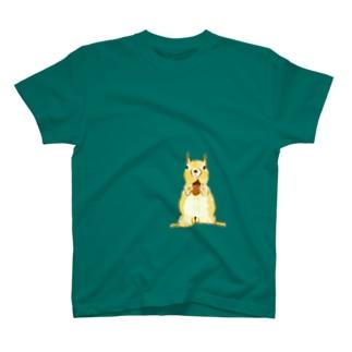 どんぐりとリス T-Shirt