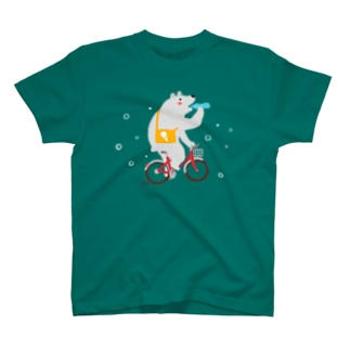 しろくまとラムネ T-shirts