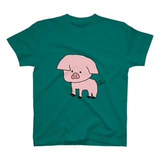 ぶたいぬ T-shirts