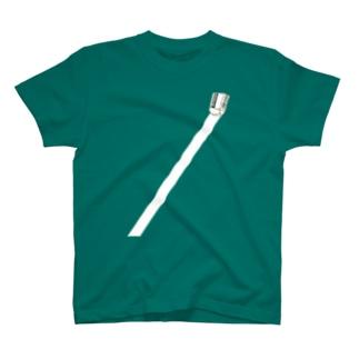 ピッシーーーーー消してます T-shirts