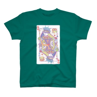 不思議の国のアリス-ハートの女王トランプ‐パステル T-shirts