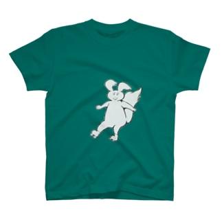 ローラースケート リス君 T-shirts