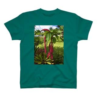 グアム 「植物」 T-shirts