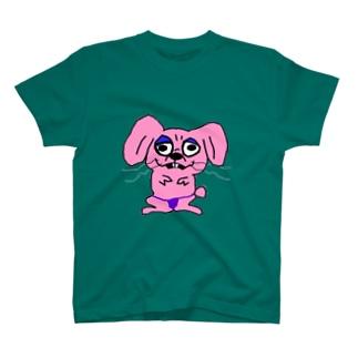 らびっと:驚 T-shirts