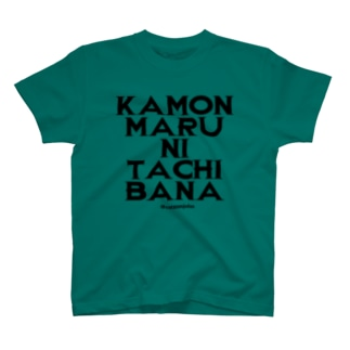 KAMON MARU NI TACHIBANA T-shirts