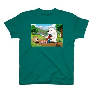 【チャックま】湖畔にて T-shirts