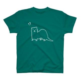 びっくりいたち T-shirts