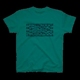 スタジオサスフォーの鳥漢字 T-shirts