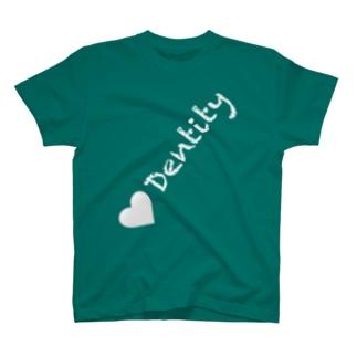 斜DENTITY T-shirts