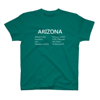 03_ARIZONA_white T-shirts
