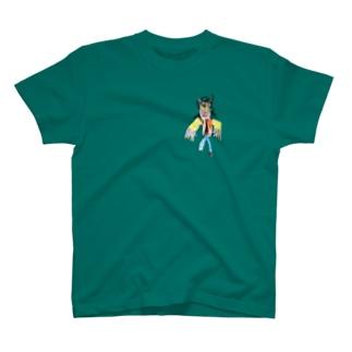 スリラーなオオカミ T-shirts