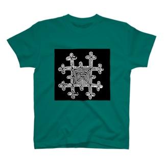 アイヌの刺繍文様 T-shirts