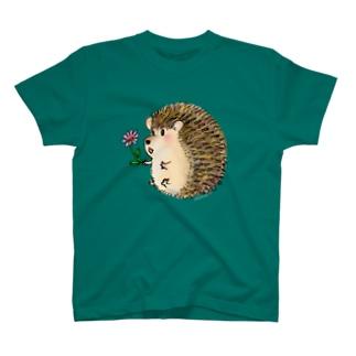 ハリネズミ君 T-shirts