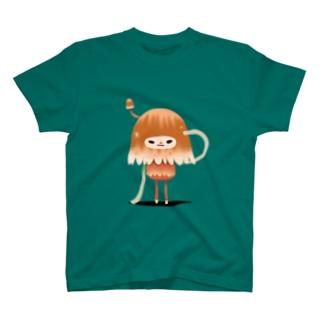 ふぇありきのこーず~あかち T-shirts