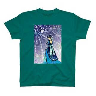 サファイア T-shirts