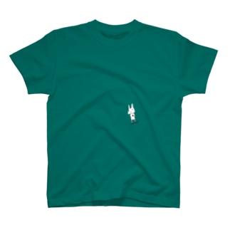 返事待ちウサギ T-shirts