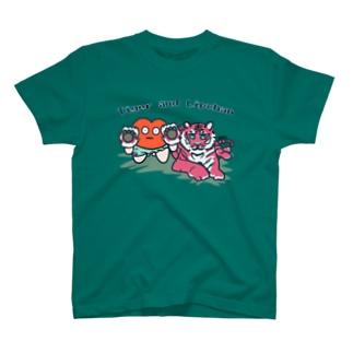 タイガーあんどリップちゃん4 T-Shirt