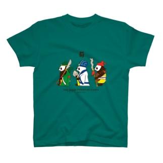 横向き三国志パンダ T-Shirt