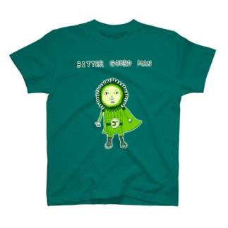 沖縄デザイン「ゴーヤマン」 T-shirts