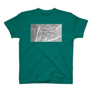 otakuha suguni meganewaru T-shirts