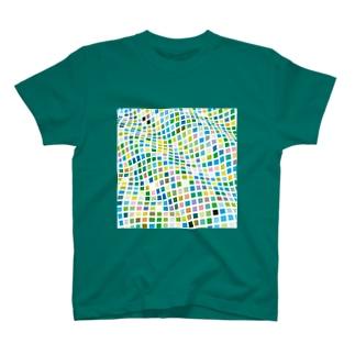 幾何学シリーズ T-shirts