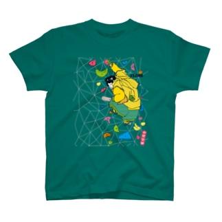 牛若〈岩壁登攀〉 T-shirts