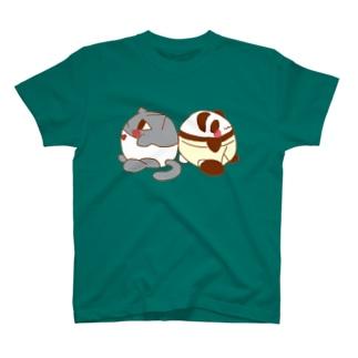 背中合わせ T-shirts
