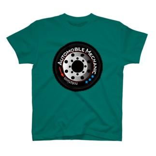 車のタイヤ T-shirts