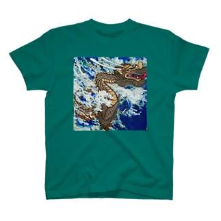 波動上昇シリーズ T-shirts