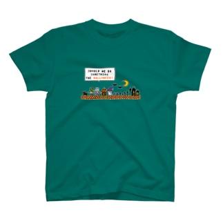 ハロウィンモンスターズ(ドット絵) Tシャツ