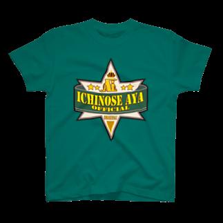 ʚ一ノ瀬 彩 公式 ストアɞの一ノ瀬彩:LOGO_COW風【英語】 Tシャツ T-shirts