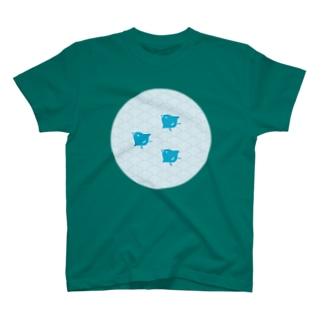 青海波と千鳥 T-shirts