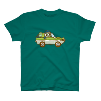 コメビツくんのウズシオくん水陸両用車 T-shirts