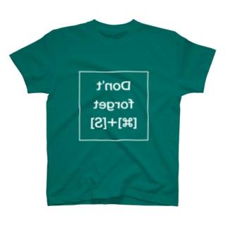 [Mac]あまりにも忘れる人が多いから鏡を見て自分で思い出せColorful T-shirts