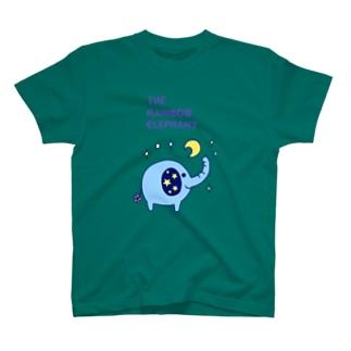 THE RAINBOW ELEPHANT T-shirts