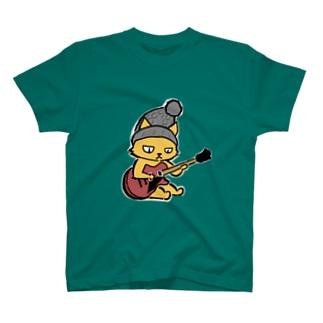 ギターネコ T-shirts
