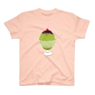宇治金時<文字なし> T-shirts