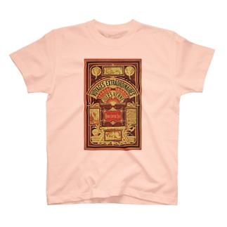 ヴェルヌ「北対南」<ブック・デザイン> T-shirts