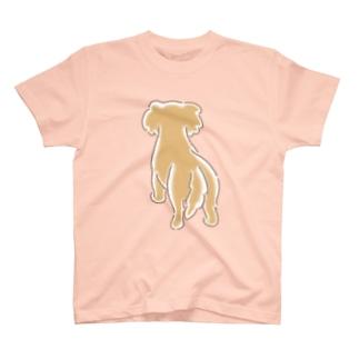 うしろ姿のダックス T-shirts