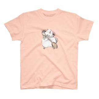 チンチラ DOLCE|パイド T-shirts