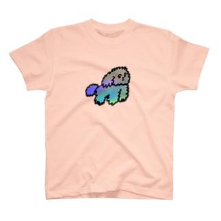 モジャ犬 T-shirts