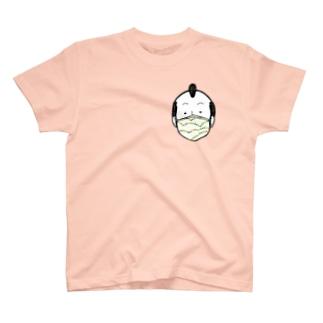 Mask Boy/濃色Tシャツ T-shirts