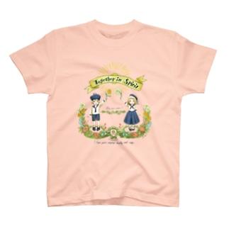 LoopmarkのTogether in Spirit     コロナ医療チャリティーグッズ   T-shirts