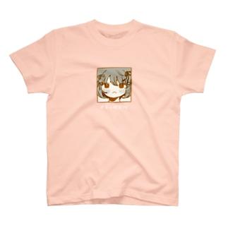 レトロなブラウンちゃん T-shirts