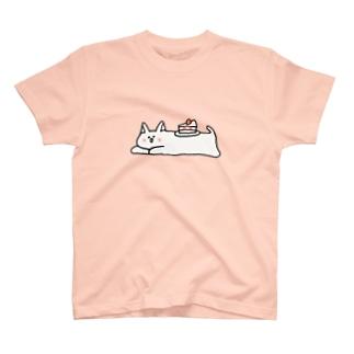 ケーキにゃん T-shirts