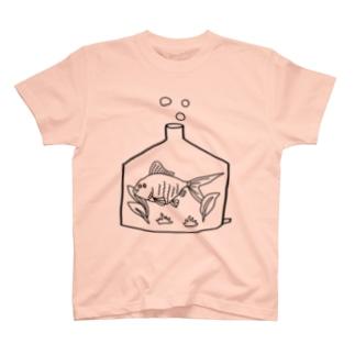 きんぎょ君 T-shirts