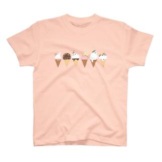 アザラシアイス・Tシャツ T-shirts